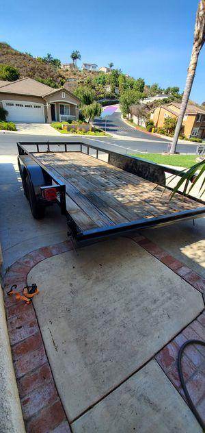 Dual axel car trailer 16 foot for Sale in Oceanside, CA