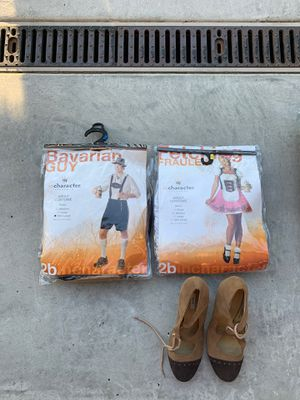 Bavarian guy and girl costumes - $40 for Sale in La Jolla, CA