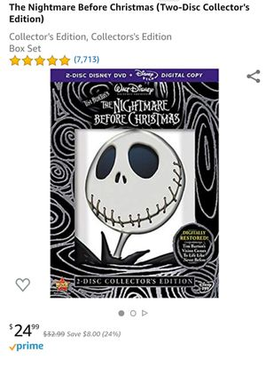 The Nightmare Before Christmas (Two-Disc Collector's Edition) Collector's Edition, Collectors's Edition Box Set for Sale in Hawthorne, CA