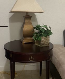 Antique Cherry Wood Circular Table for Sale in Miami,  FL