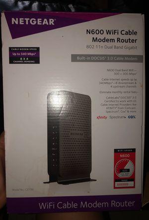 Netgear N600 WiFi Cable Modem Router for Sale in Phoenix, AZ