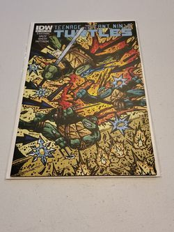 Teenage Mutant Ninja Turtles #41 Variant Cover B, IDW First Print 2014 Near Mint+, Raw Unpressed And Ungraded Comoc Book. Rare. Kevin Eastman for Sale in Fresno,  CA