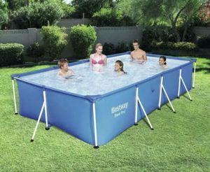 Bestway 13' x 7' Rectangular Frame Pool for Sale in Houston, TX
