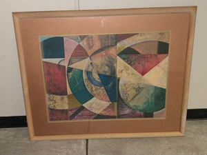 35 by 43 inch framed wall art for Sale in Tempe, AZ