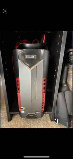 Acer gaming desktop with free desk gaming table gaming mouse keyboard gaming 32 inch monitor for Sale in Fremont,  CA