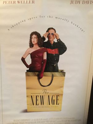 The New Age Peter Weller Movie Video Poster for Sale in Los Angeles, CA