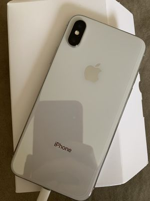 Iphone x ANY CARRIER 256GB for Sale in Chula Vista, CA