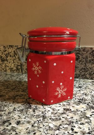 Small canister jar for the kitchen or hobby area for Sale in Westerville, OH