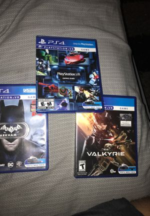 Ps4 Vr games for Sale in Carlisle, PA