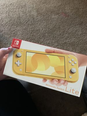Nintendo switch lite! for Sale in Perris, CA