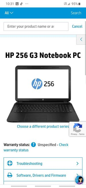HP 256 G3 PC for Sale in Scottsdale, AZ