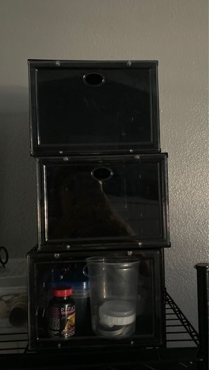 3 shoe boxes for Sale in Norwalk, CA