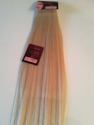 22 inches Weft Human Hair Extensions ( blonde #613 ) for Sale in Downey, CA