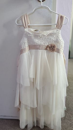Christmas dress / Flower girl Biscotti dress size 7 for Sale in Union City, CA