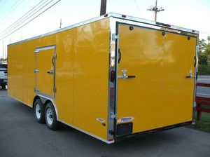 ENCLOSED VNOSE TRAILERS ALL SIZES AND COLORS 20FT 24FT 28FT 32FT IN STOCK FREE DELIVERY for Sale in Denham Springs, LA