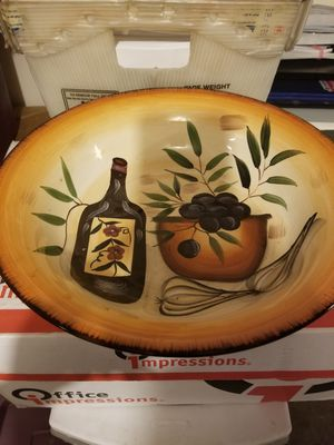"Ceramic Bowl 12"" for Sale in Federal Way, WA"