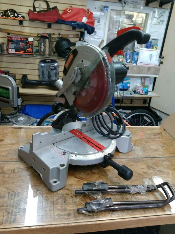 """$99.99 - Craftsman 10"""" Compound Miter Wood Saw"""