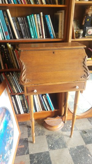 Secretary small tall antique entryway desk for Sale in Vista, CA