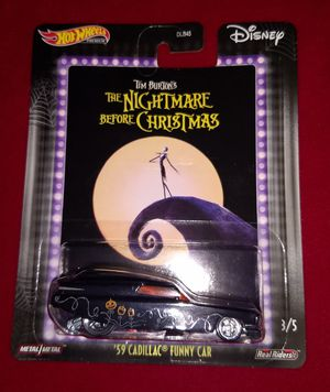 Nightmare Before Christmas Hot Wheels Car for Sale in Houston, TX