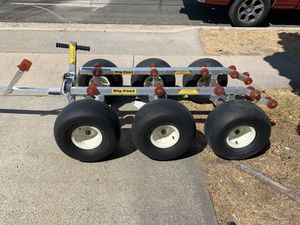 Big Foot 6 wheel aluminum Jet Ski Dolly for Sale in San Diego, CA