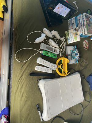 Wiiu console, games and accessories for Sale in Rancho Santa Margarita, CA