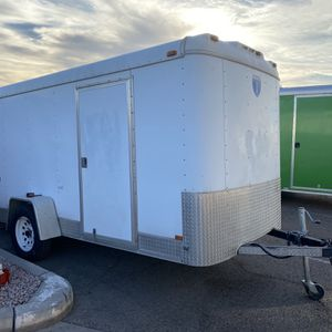 Box trailer 2002 Interstate Carrier Trailer Cargo Trailer With Side Door One Axle for Sale in Scottsdale, AZ
