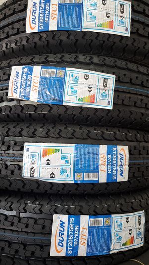 205 75 15 New Trailer tires 8ply for Sale in Tucson, AZ