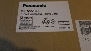 Panasonic KX-N55180 Trunk Card 6 port Analog for Sale in The Bronx, NY