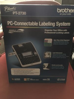 NEW Brother P-Touch PT-2730 Label Thermal Printer PC Connectable Labeling System for Sale in Jersey City, NJ