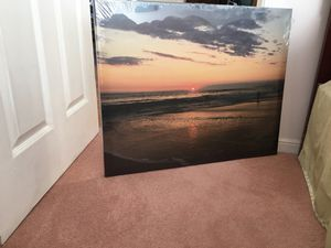 Sunset Photo Canvas 24x30 for Sale in San Francisco, CA