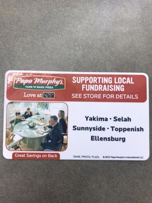 Papa Murphy's Coupon for Sale in Ellensburg, WA