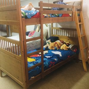 Solid wood bunk bed for Sale in Orosi, CA