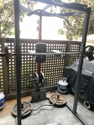 Weider Squat Rack with 210 LB for Sale in San Jose, CA