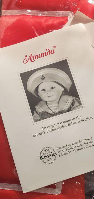 Antique Collectible Doll (Amanda) for Sale in Gold Canyon, AZ
