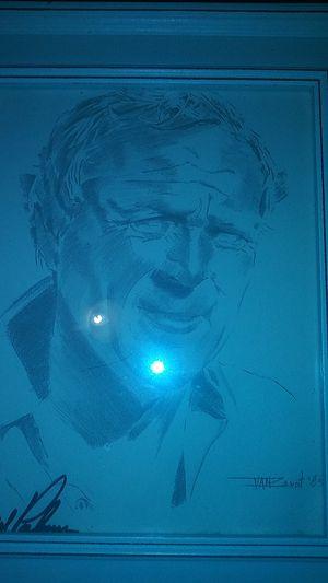 Arnold Palmer signed portrait for Sale in Summerfield, FL
