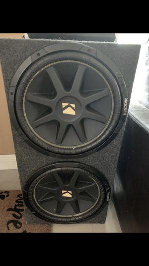 2 15s kicker audio for Sale in Hialeah, FL