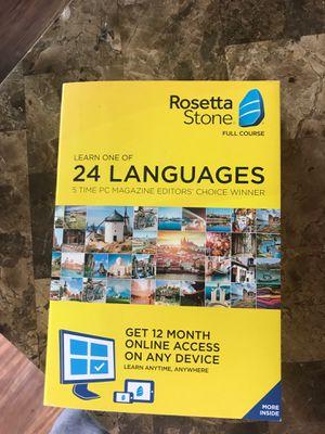 Rosetta Stone 24 languages for Sale in Aurora, CO