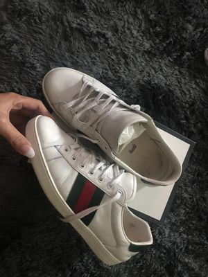 Men's authentic Gucci ace sneakers size 11 for Sale in Mansfield, TX