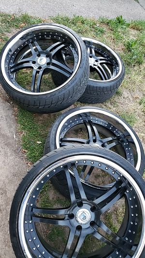 "Asanti 22"" asantis rims wheels 22 for Sale in Gresham, OR"