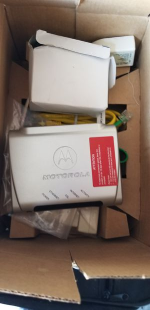 MOTOROLA MODEM STYLE MSTATEA for Sale in Houston, TX