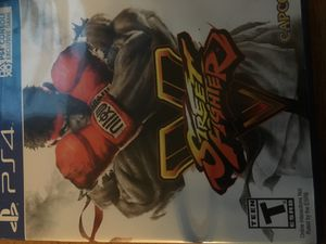 Street fighter ps4 game for Sale in Annandale, VA