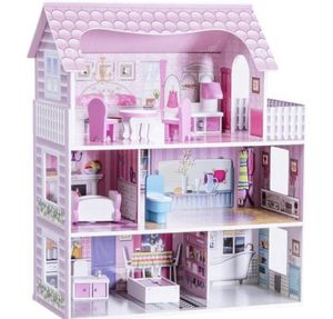 """New 28"""" Pink Dollhouse W/ Furniture girls toys for Sale in Rancho Cucamonga, CA"""