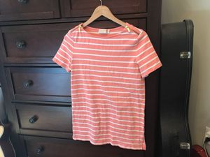 Michael Kors Pink & White Striped Shirt for Sale in Hickory, NC