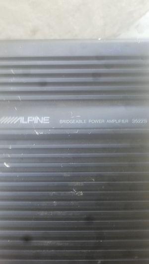 Alpine amplifier for Sale in El Cajon, CA