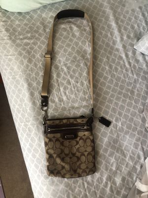Coach Messenger Bag - Brown for Sale in Sugar Land, TX