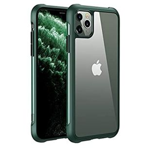 iPhone 11Pro, Green case with Clear back skin for Sale in Greensboro, NC