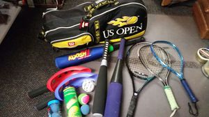 Wilson US open with various gear for Sale in Gresham, OR