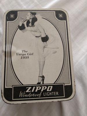 ZIPPO THE VARGA GIRL LIGHTER 1935 for Sale in Stockton, CA