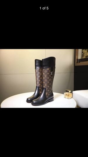 Louis Vuitton woman fashion long boots for Sale in Avon, IN