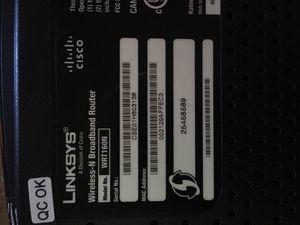 Cisco Linksys Wireless N Router for Sale in Roanoke, VA